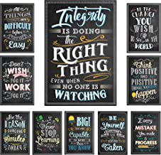 Chalkboard Style Motivational Classroom Posters (13