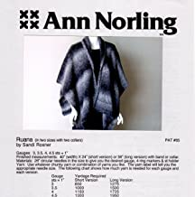 Ann Norling Pattern #65 Ruana