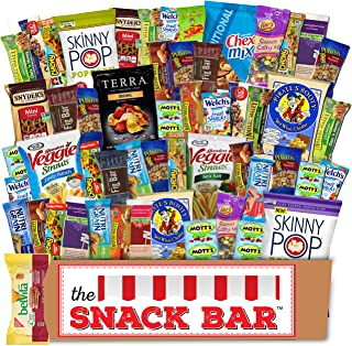Healthy snack Care Package (52 count) A Gift crave Snack Box with a Variety of Healthy Snack Choices – Great for Office, C...