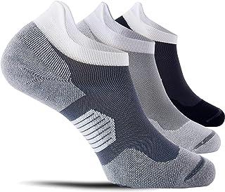 CelerSport 3 Pairs Ankle Running Socks for Men and Women - Low Tab Athletic Socks