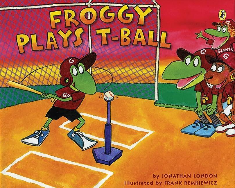 衛星パスするだろうFroggy Plays T-ball (English Edition)