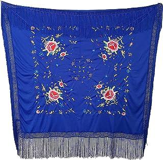 cee81ad2a Amazon.es: manton manila - Azul
