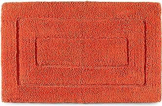 Kassatex Kassa Design Bath Rug, 20 by 32-Inch, Blood Orange
