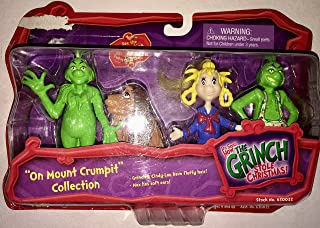 The Grinch Who Stole Christmas 4 Figure Set 'On Mount Crumpit'