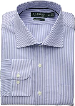 Non-Iron Classic Fit Stretch Poplin Dress Shirt