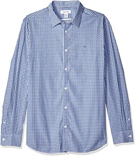 Calvin Klein Men's Cotton Cashmere Button Up Shirt