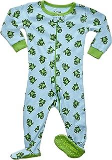 Leveret Baby Boys Footed Pajamas Sleeper 100% Cotton Kids & Toddler Owl Pjs (6 Months-5 Toddler)