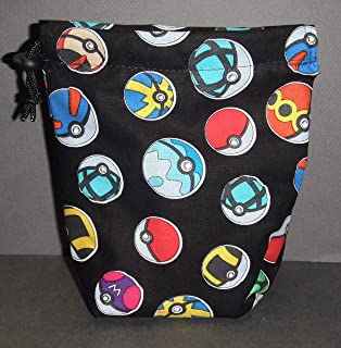 pokeball dice bag