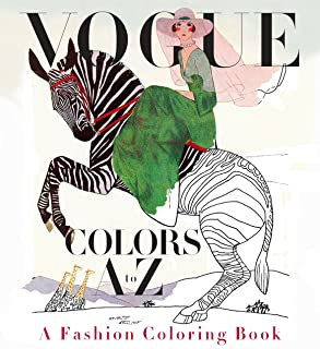 vogue fashion coloring book
