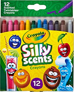 Crayola Silly Scents Twistables Crayons, Sweet Scented...