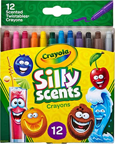 12-Counts Crayola Silly Scents Scented Mini Twistables Crayons