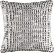 Nautica Basic Gray Knit 16-inch Decorative Pillow, 16 inch Dec Pillow,