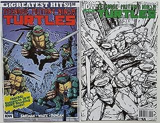 Teenage Mutant Ninja Turtles Ongoing Issue 1-2 Variant Set - IDW Comic