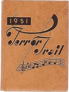 1951 Terror Trail Colorado Springs High School Colorado Yearbook