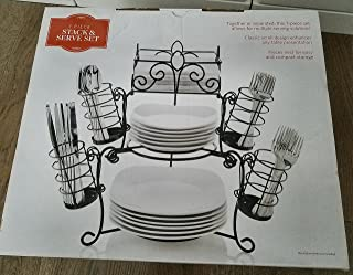 7 Piece Stack & Serve Buffet Set