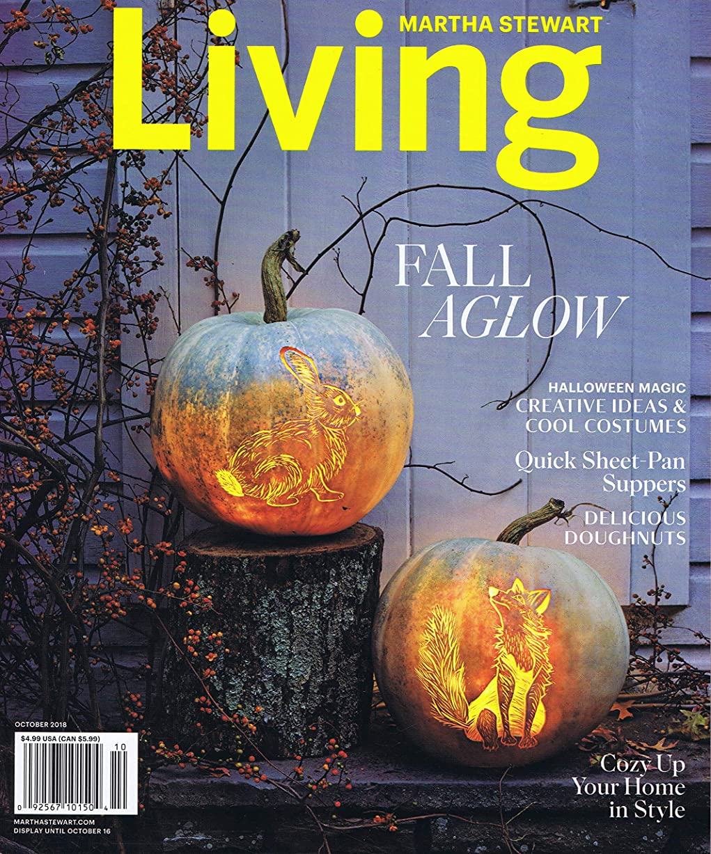 ビン批判する帆Martha Stewart Living [US] October 2018 (単号)