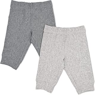 Baby 2-Pack Grow & Fit Pull-On Pants - Unisex, Girls, Boys