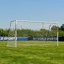 Forza 12ft x 6ft Alu60 Soccer Goal | Regulation Size Aluminum Mini-Soccer Goal [Optional Target Sheet]