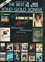 The Best 4 Plus 24 Solid Gold Songs (Songbook) Piano/ Vocal/ Guitar Chords 1987 edtn.
