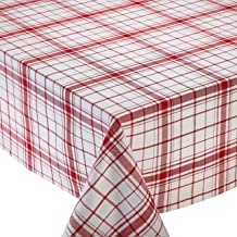 Design Imports DII Down Home Plaid Kitchen Tablecloth - 60