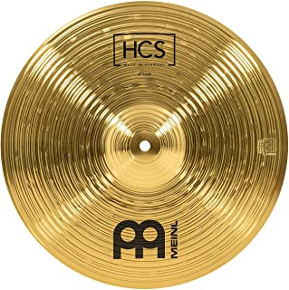 """Meinl Percussion 14"""" Crash Cymbal – HCS Traditional Finish Brass for Drum Set Use,.."""