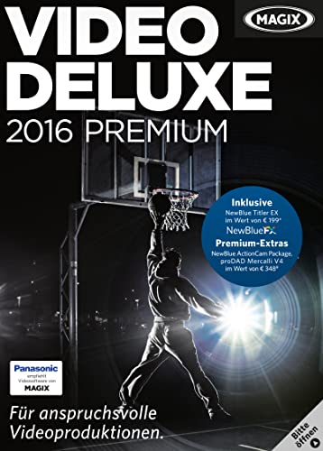 MAGIX Video deluxe 2016 Premium [Download]