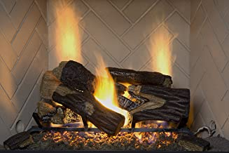 Sure Heat BRO18NG River Oak Set de Troncos de Gas ventilado