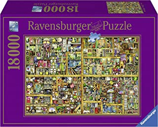 Ravensburger Magical Bookcase 18,000 Piece Jigsaw Puzzle for Adults – Softclick Technology Means Pieces Fit Together Perfectly