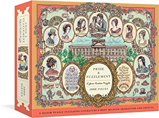 Pride and Puzzlement: A Jane Austen Puzzle: A 1000-Piece Jigsaw Puzzle Featuring Literature's Most Beloved Characters and ...