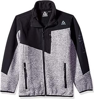 Reebok Boys' Big Active Spyder Jacket, Grey, 18/20