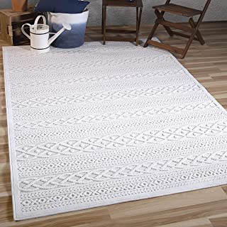 Orian Rugs Boucle Collection Indoor/Outdoor High-Low Jenna Area Rug 5'2