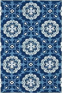 Kaleen Rugs Matira Collection MAT12-17 Blue Handmade 5'X7'6