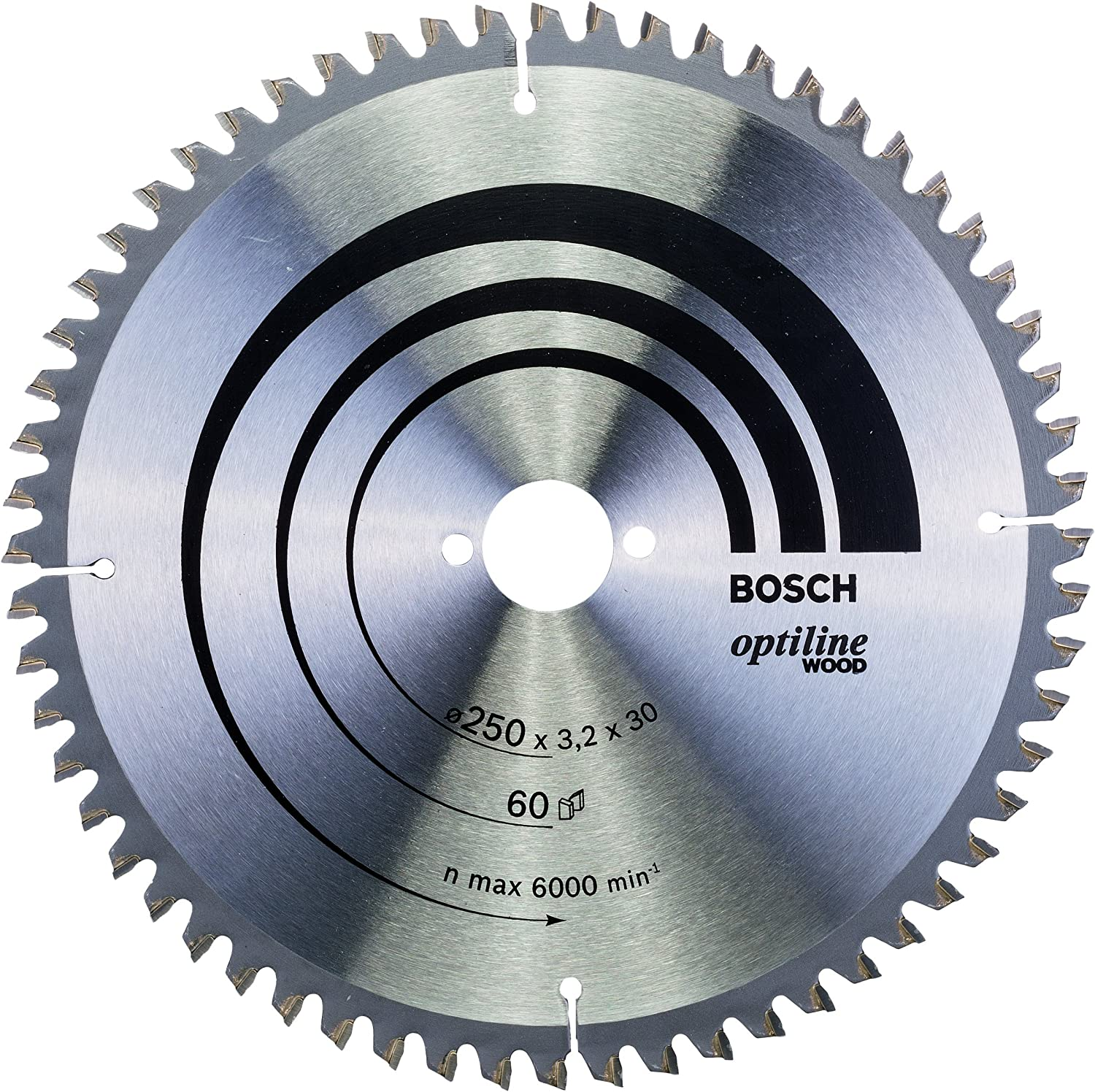 National products Bosch Topics on TV 2608640644 Circular Saw Blade