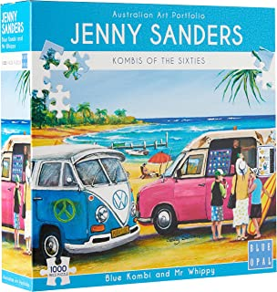 Blue Opal Blue Kombi and Mr Whippy 1000pc Puzzle