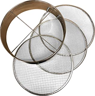 4pc Soil Sieve Set, 12