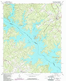 YellowMaps Plum Branch SC topo map, 1:24000 Scale, 7.5 X 7.5 Minute, Historical, 1964, Updated 1987, 26.8 x 22 in