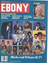 Ebony Magazine September 1989: Black and 50 Years of Tv