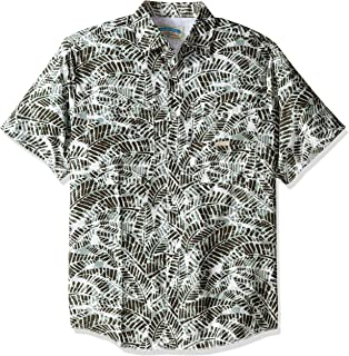 Men's Relaxed-Fit Short Sleeve Fishing Shirt