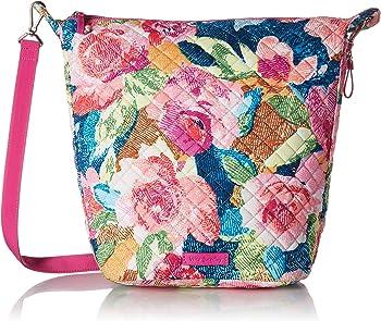 Vera Bradley Carson Signature Cotton Hobo Bag