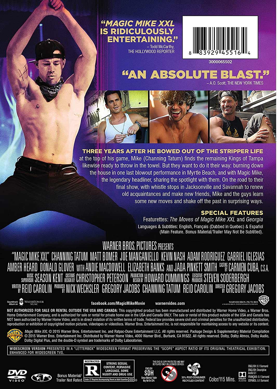 Magic Mike XXL [USA] [DVD]: Amazon.es: Matt Bomer, Channing ...