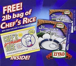 Ziyad Soup Starter Jameed Kishk Concentrate, 2.2 Pound