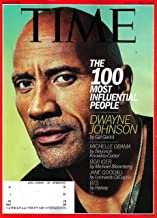 TIME Magazine April 26 - May 6, 2019 DWAYNE JOHNSON Cover, Michelle Obama, Bob Iger, Jane Goodall, BTS