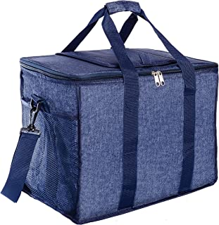 Galashield Cooler Bag Insulated Waterproof and Leakproof Large Capacity Picnic Bag of 30 Liter Holds 50 Cans Soft Tote Bag