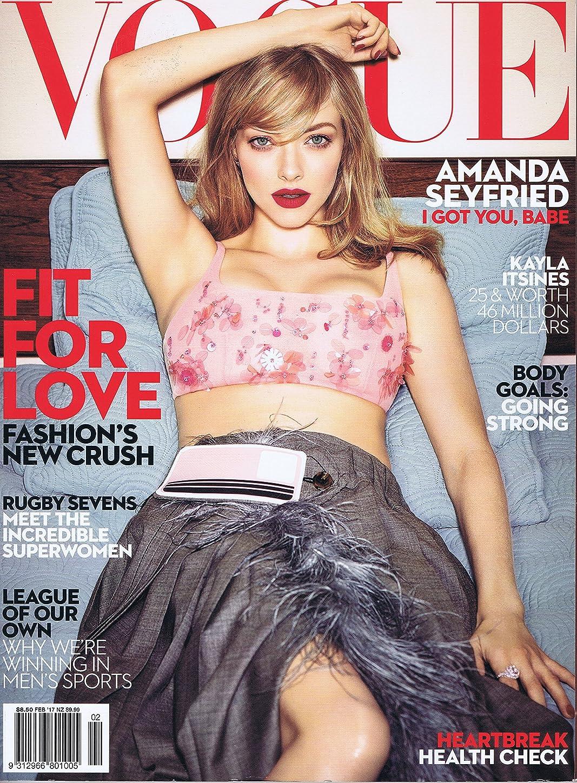 日食可能性宣教師Vogue [Australia] February 2017 (単号)