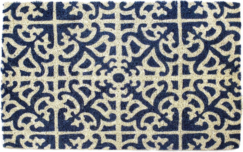 Entryways Parterre Handwoven Coconut Fiber Doormat