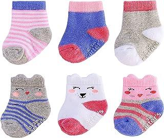Carter's - Calcetines para bebé (6 unidades)