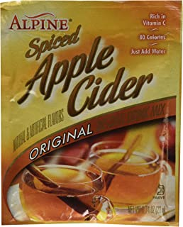 Alpine Spiced Cider Original Apple Flavor Drink Mix , 60 Packets of 0.74-Ounce