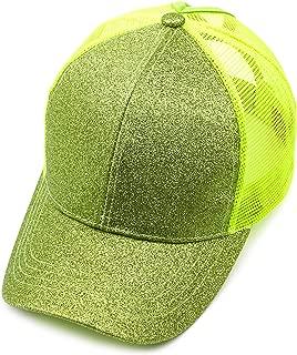 Hatsandscarf Ponytail caps Messy Buns Trucker Plain Baseball Cap (BT-6)
