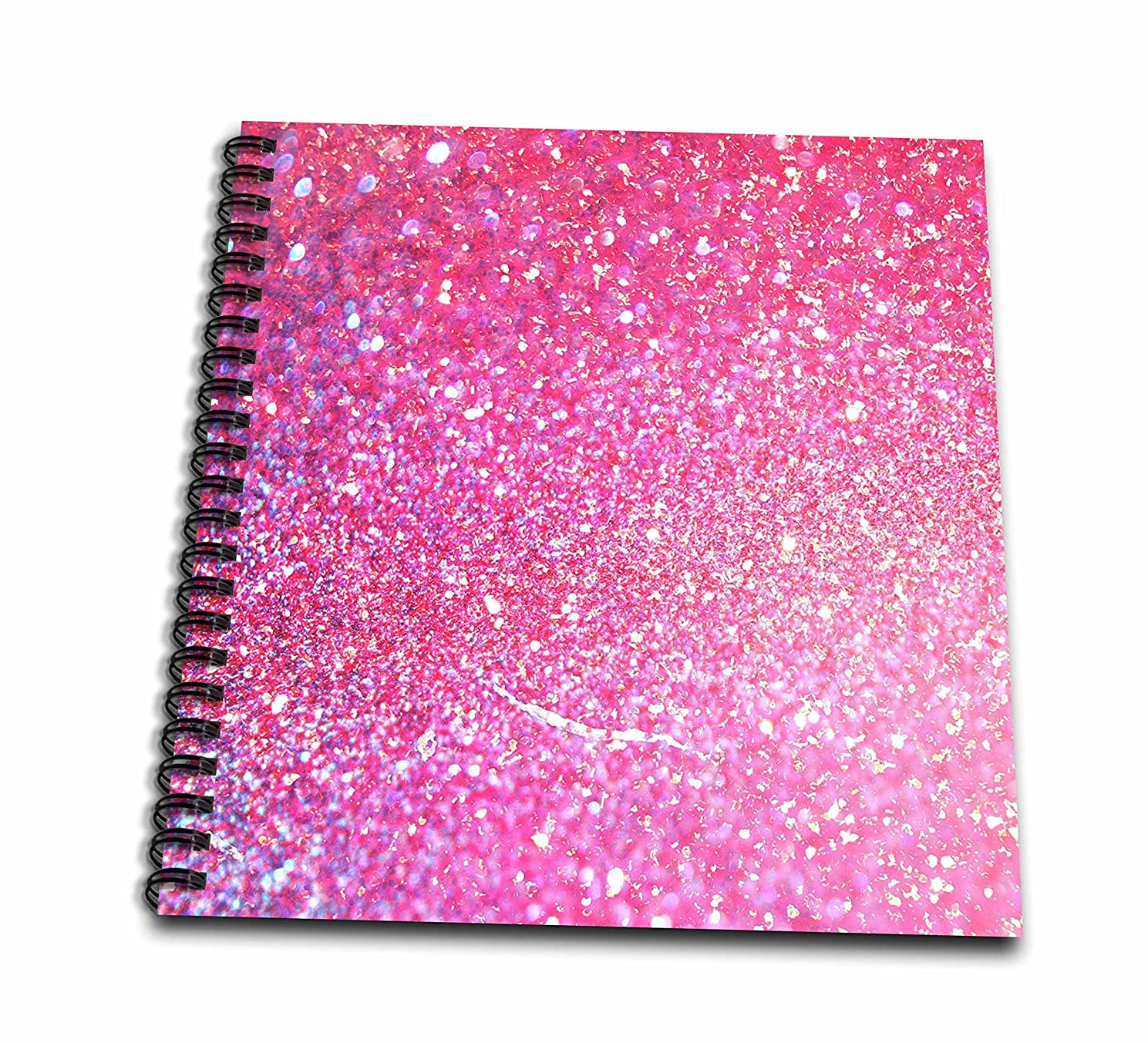 3D Rose Luxury Diamond Glitter Sparkly Mini Notepad