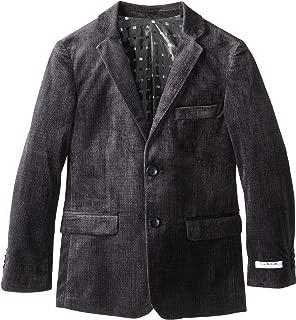 Isaac Mizrahi Big Boys' Striped Velvet Blazer